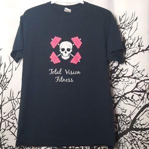 Total Vision Fitness Skull T-shirt